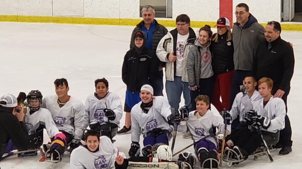 Hendrickson Foundation Sled Hockey Champs 2019