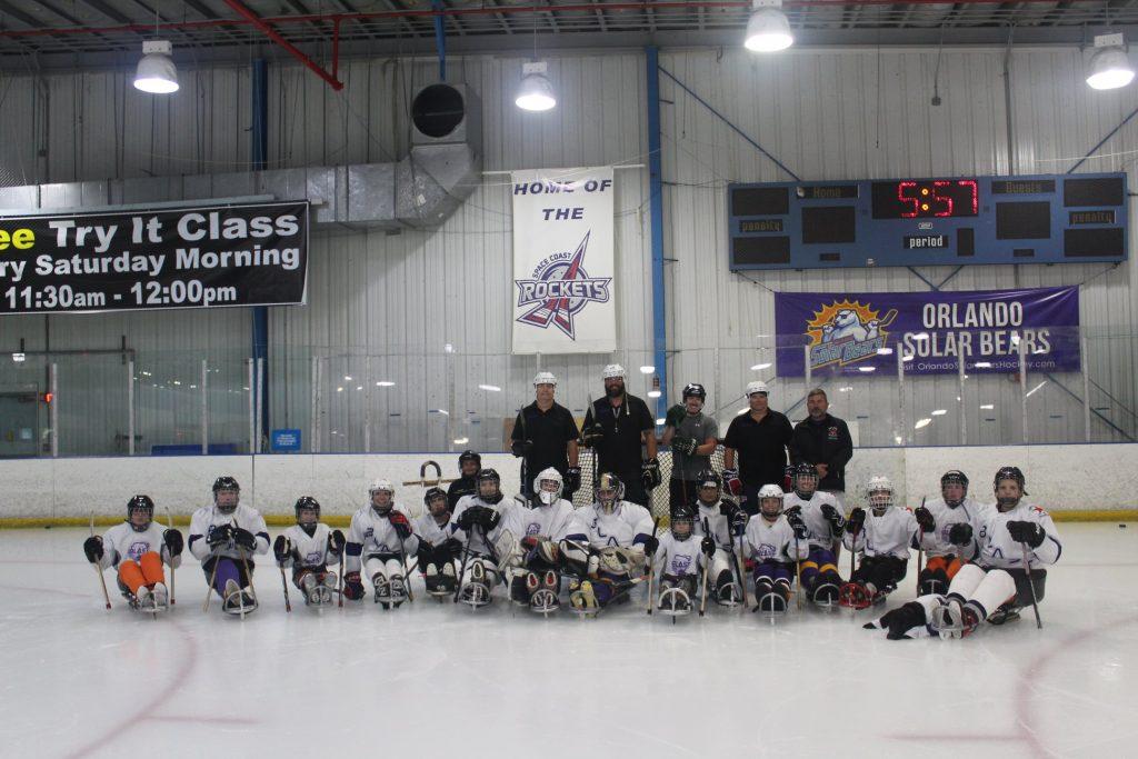 Space Coast Sled Hockey Team 2019-2020