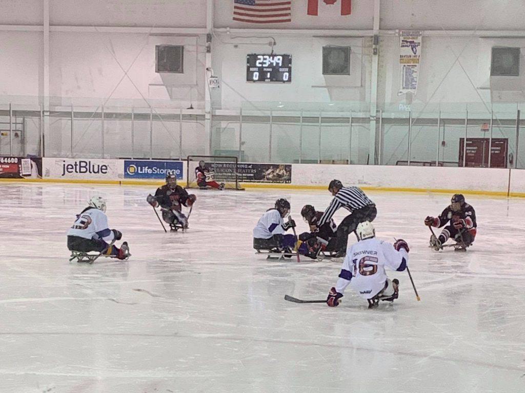 2019 LATAM Cup Sled Hockey Demonstration vs. Tiger Sharks