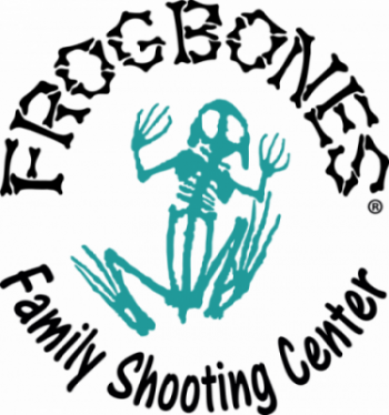 FrogBones Family Shooting Center Logo